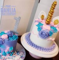 Unicorn & Smash Cake