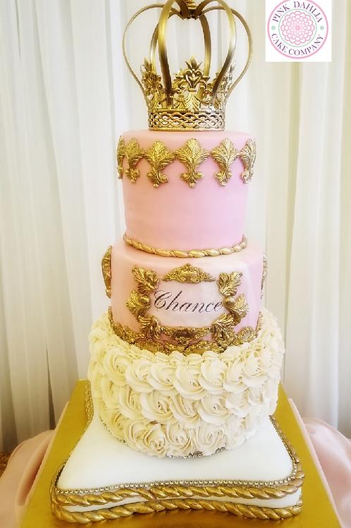 4 Tier Royal Theme Cake