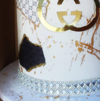 Hgh Fashion Birthday Cake