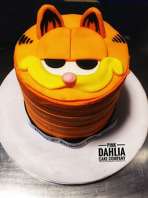 Garfield Inspired Cake