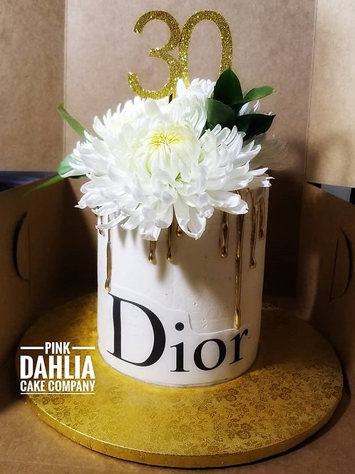 Dior Theme Cake