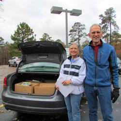 Thanksgiving Basket Deliveries