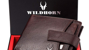 Contemporary And Durable Wild Horn Brown Men's Wallet