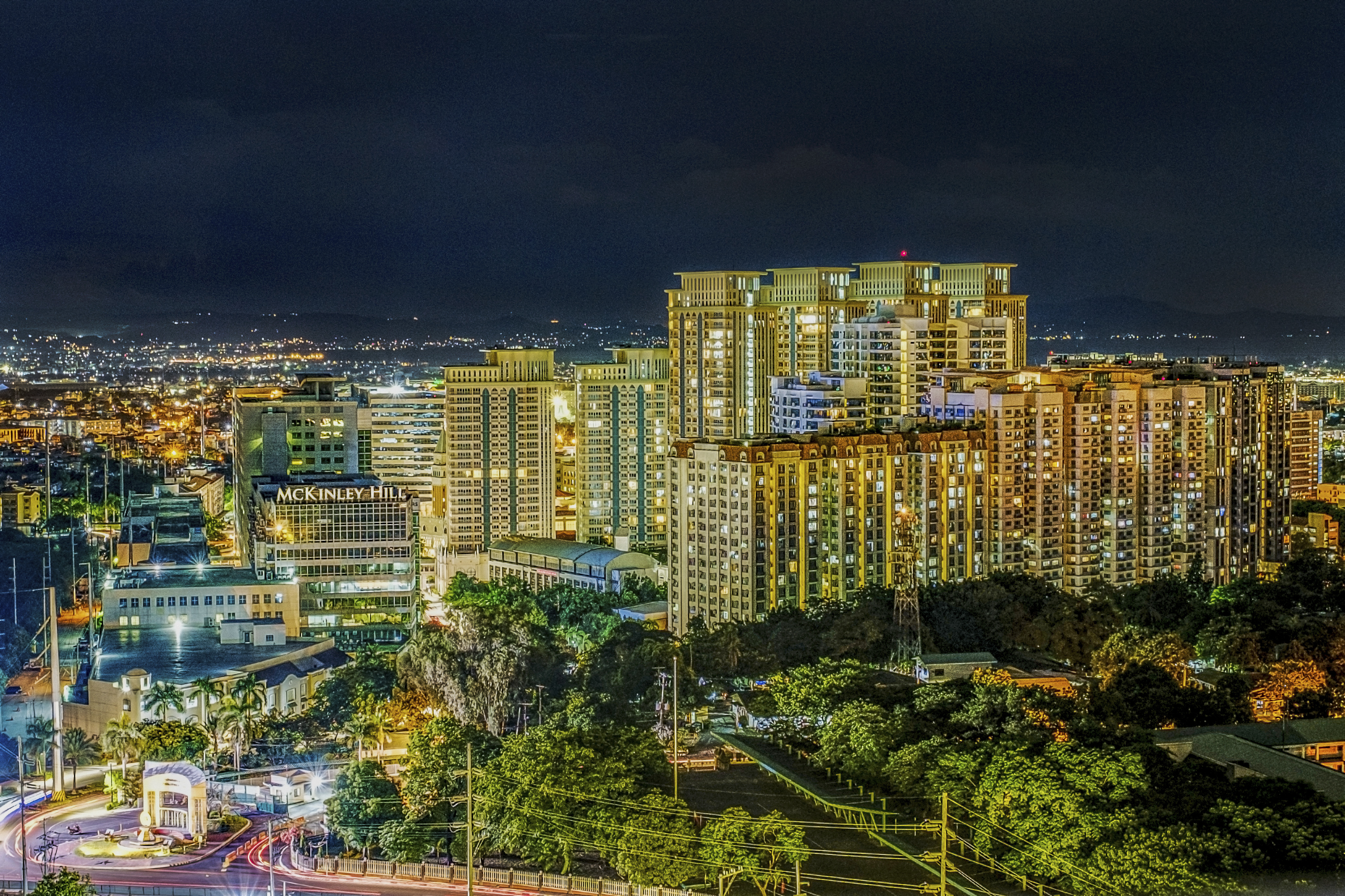 McKinley Hill Night time