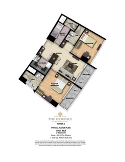 Tower 2 2BR