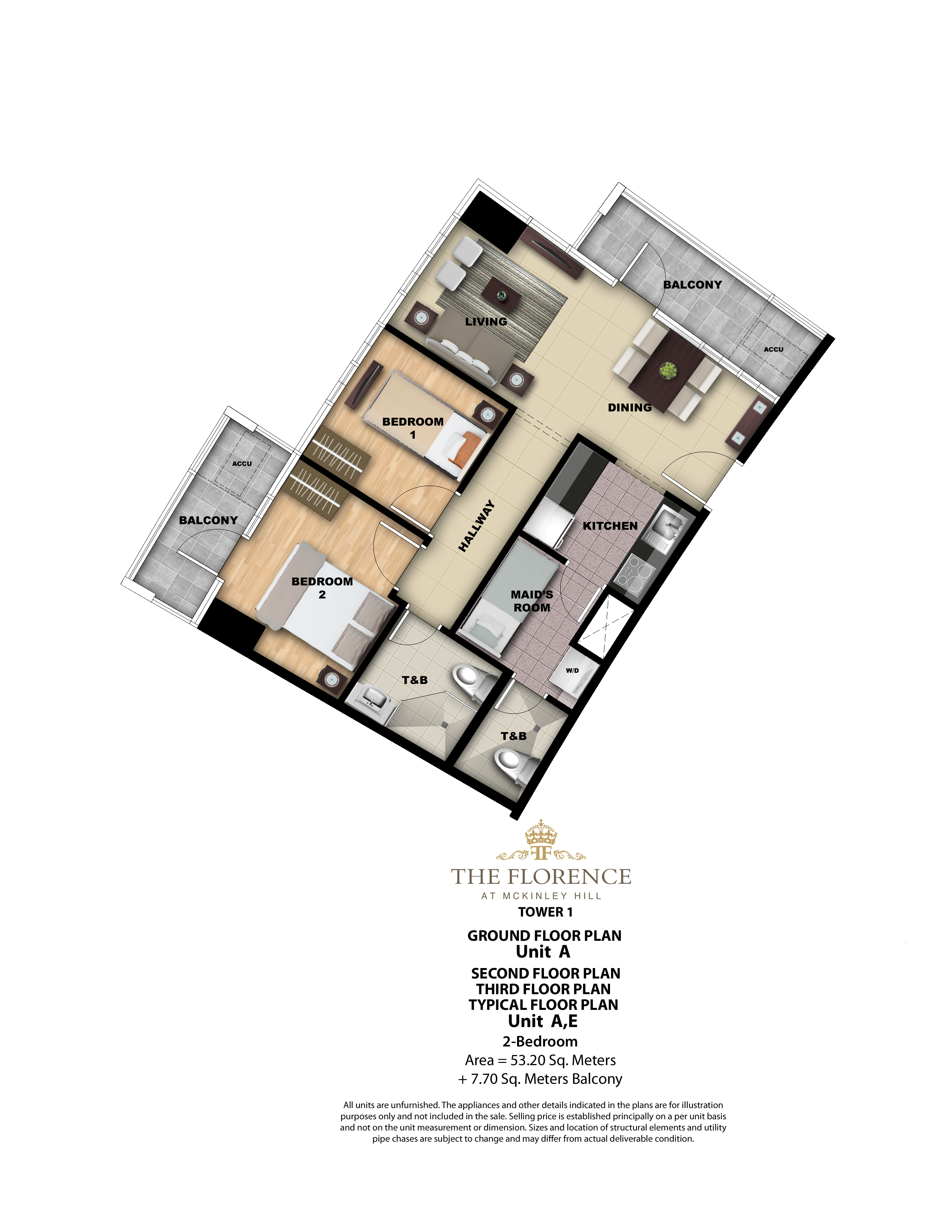 Tower 1 2BR