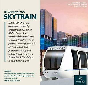 Skytrain in BGC