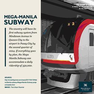 Mega Manila Subway