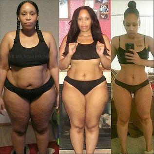 Процесс похудения