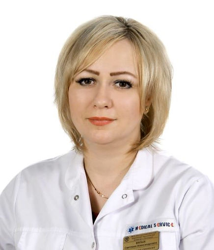 Врач гинеколог Вялых Светлана Александровна