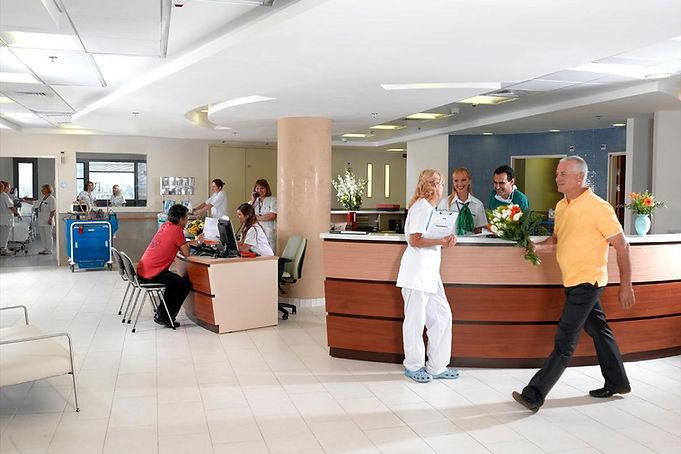 Психиатрическая клиника холл