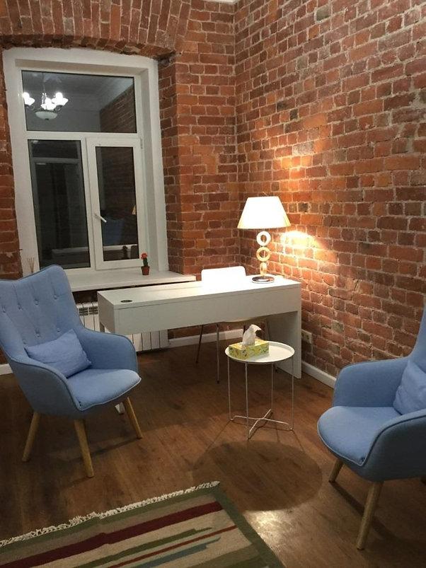 кабинет психолога Марии Мазуриной в Санкт-Петербурге