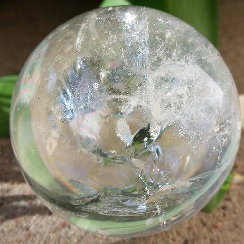 60mm AAA+ Clear Quartz Sphere