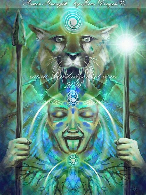Inner Strength A3 Print