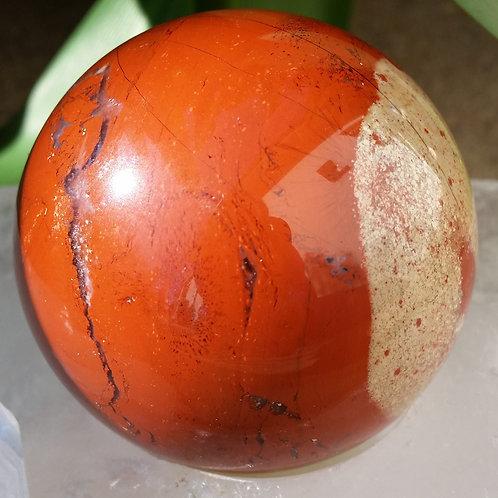 50mm Red Jasper Sphere