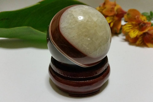 50mm Brown Agate Sphere