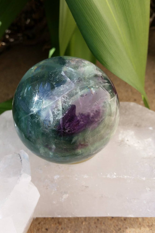 60mm Fluorite Sphere