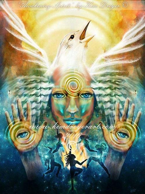 Awakening Spirit A3 Print