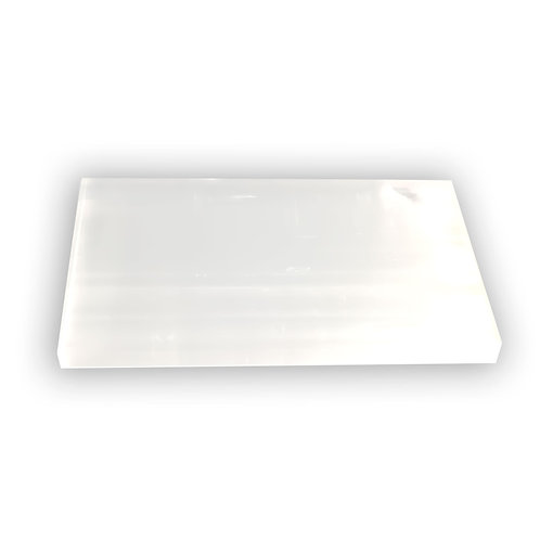 Selenite Rectangle Charging Plates