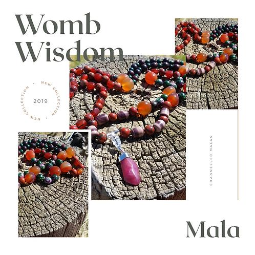 SOLD - Womb Wisdom Mala