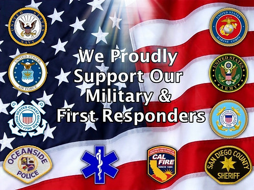 Military/Police/First Responder Pricing