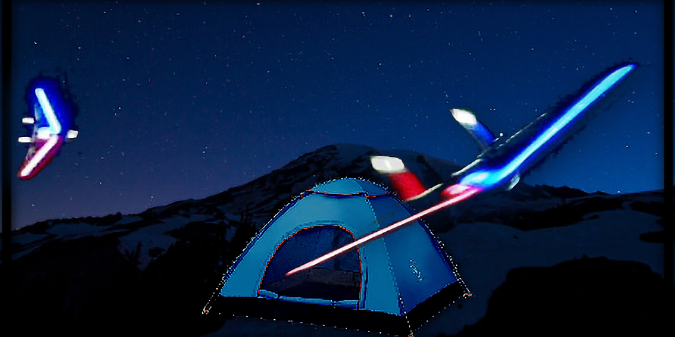 Camping Weekend and Night Fly