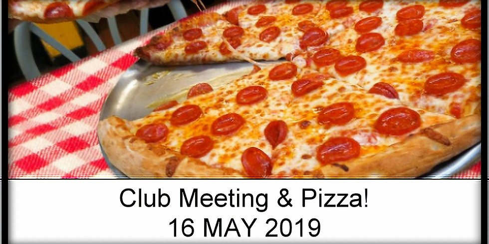 Club Meeting with Pizza!!!