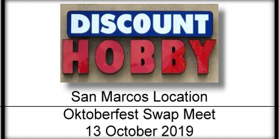 Oktoberfest Swap Meet at San Marcos Location!!!