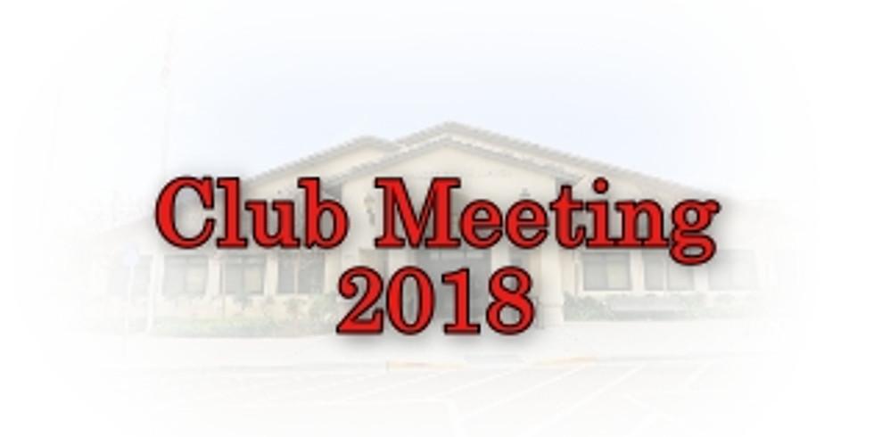 Palomar R/C Flyers Club Meeting