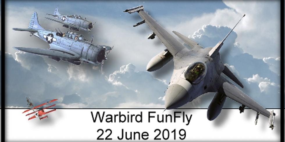 PRCF WARBIRD FUNFLY 2019
