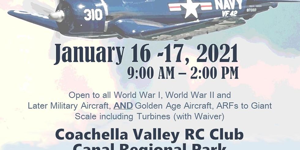 9th Annual Desert Warbirds - Coachella Valley RC Club