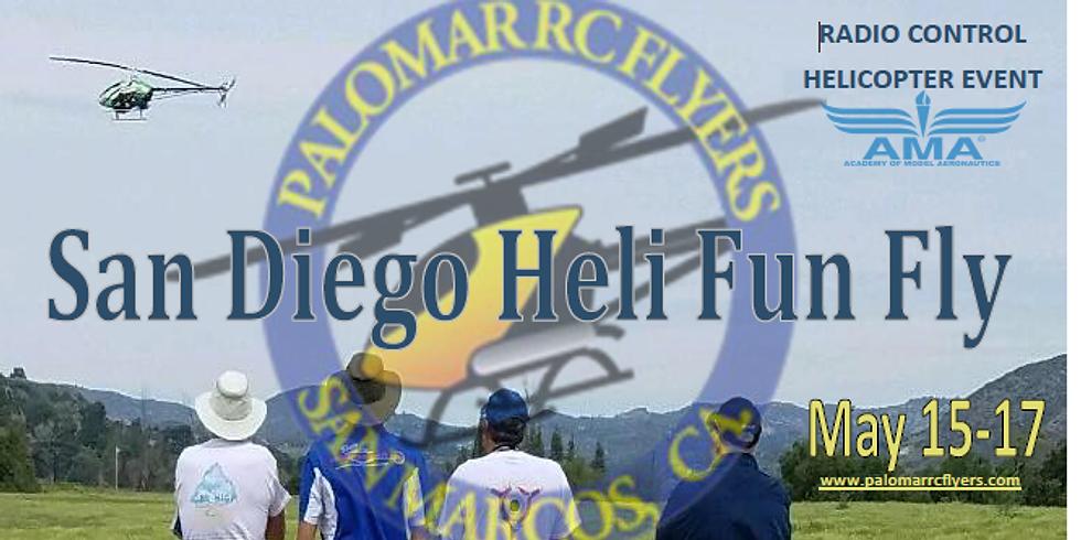 PRCF 2020 San Diego Heli Fun Fly!!! Cancelled