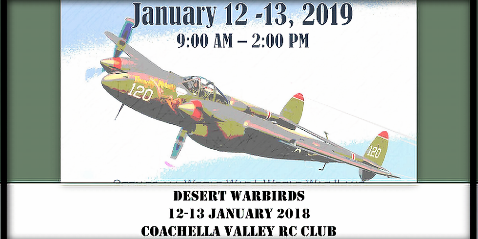 7th Annual Desert Warbirds