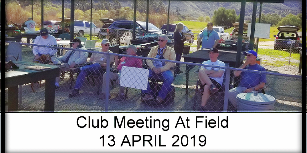 Club Meeting at field