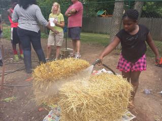Pottstown garden workshop shows straw bale gardening as an easy option for beginners
