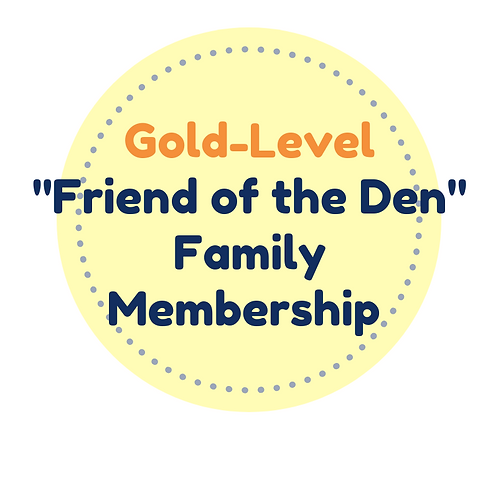 Family Gold Friend of the Den