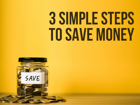 💰💰💰3 Simple Steps to Save Money💰💰💰