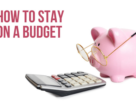 💰How To Stay On A Budget 💰