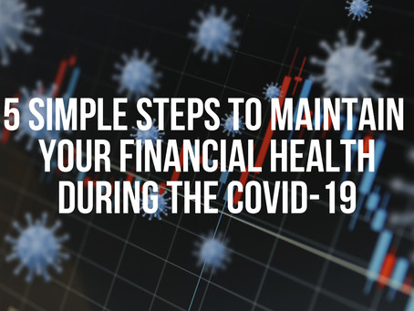 🖐 5 SIMPLE STEPS TO MAINTAIN YOUR CREDIT DURING COVID-19 🖐