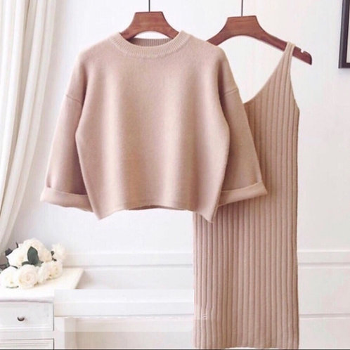 Платье женское + кофта