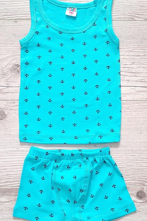 Комплект нижнего белья для мальчика УЗБЕКИСТАН (3-4-5-6-7)