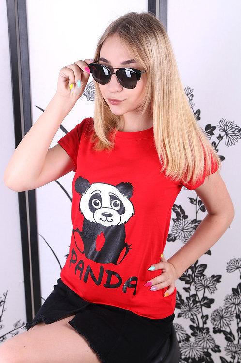 Футболка женская PANDA