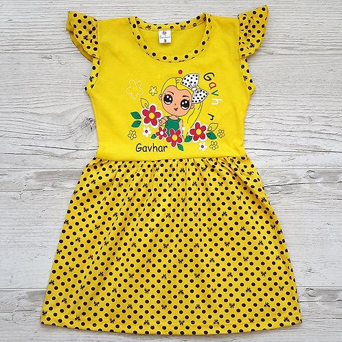 Платье для девочки УЗБЕКИСТАН (3-5-7). ХИТ СЕЗОНА!