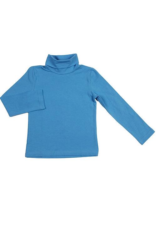 Водолазка для мальчика, цвет голубой