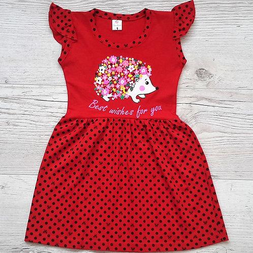 Платье для девочки УЗБЕКИСТАН (1-3-5).