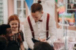 Spaß mit Magie bei Zauberer Sylt auf einer Hochzeit