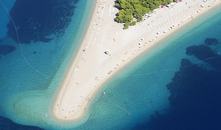 Brac Island_Zlatni rat beach