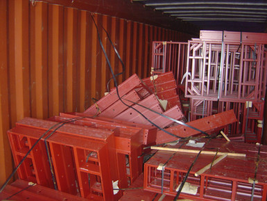 Крепление груза в контейнере - чья ответственность