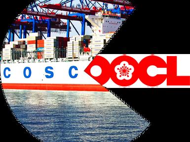 COSCO поглощает контейнерную линию OOCL