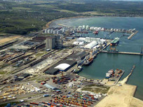 Расширение возможностей порта Усть-Луга
